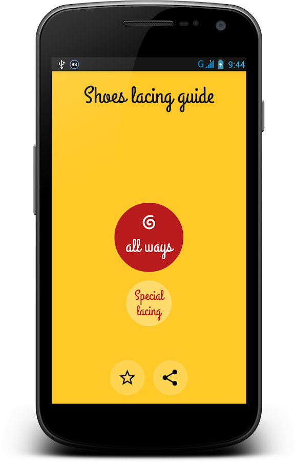Shoes Lacing - Shoelaces Guide- screenshot