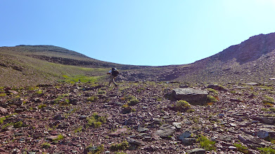 Photo: Greg just below Red Gap Pass