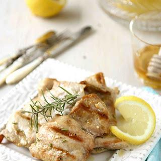 Grilled Lemon & Rosemary Chicken.