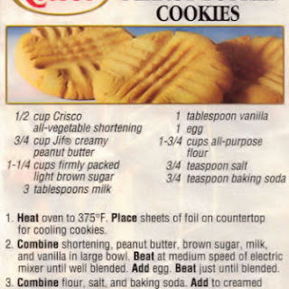 Butter Flavor Crisco Cookie Recipes.