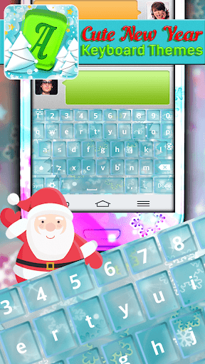 Cute New Year Keyboard Themes