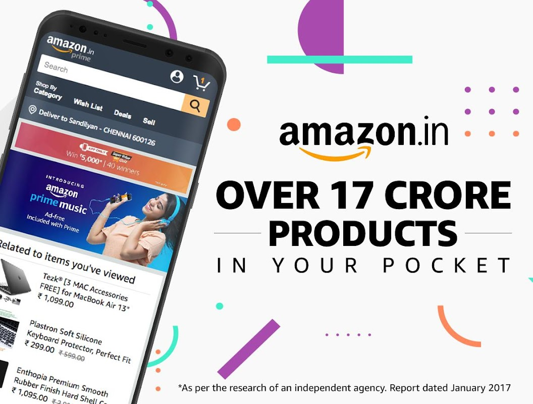 Amazon India Online Shopping and Payments screenshots
