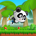 Panda Jungle Runner-adventures games icon