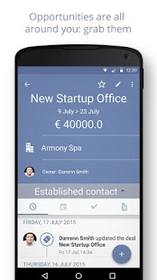 Sellf – Personal CRM for Sales - náhled
