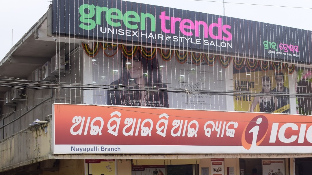 green trends unisex hair