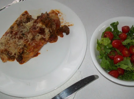 Manicotti eggplant bake gone wild Recipe