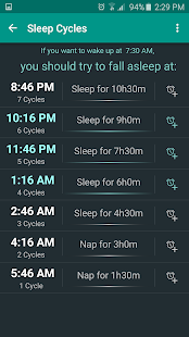 Sleep Calculator- screenshot thumbnail