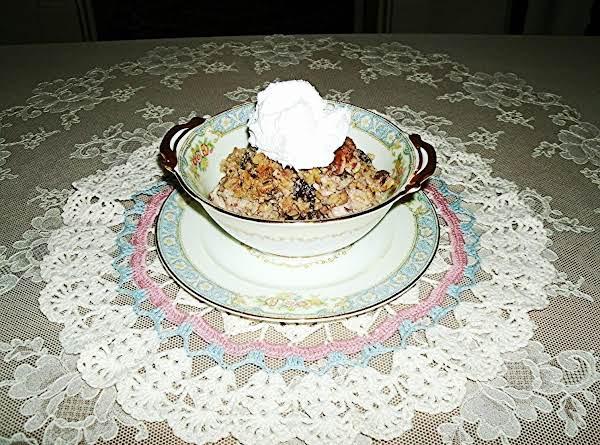 Walnut Raisin Brown Rice Pudding Recipe