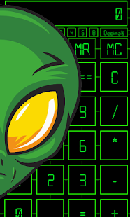 Alien Calculator PRO - náhled