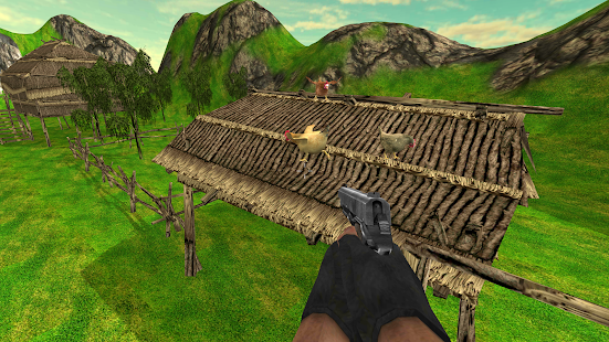 Chicken Shooter - Chicken Scream hunt chicken Farm - náhled