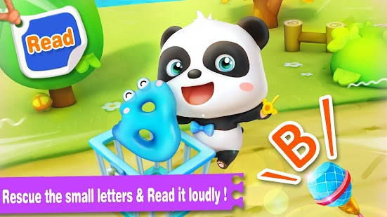 Baby Panda Learns Alphabet- screenshot thumbnail