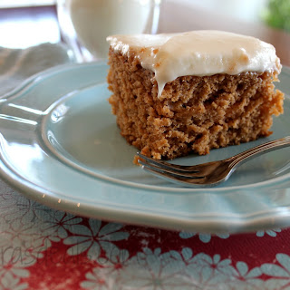 Tomato Soup Cake With Cream Cheese Icing