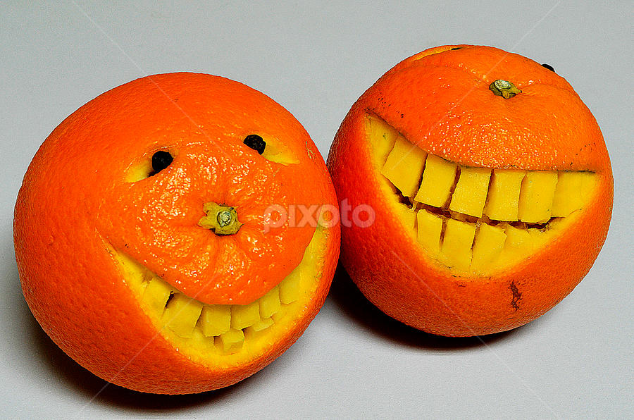 smiley by Pete G. Flores - Food & Drink Fruits & Vegetables ( two, orange, fruit, happy, food, pwcfruit, smile )