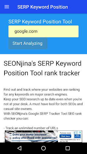 SERP Keyword Position by SEO Ninja Softwares (Google Play, United