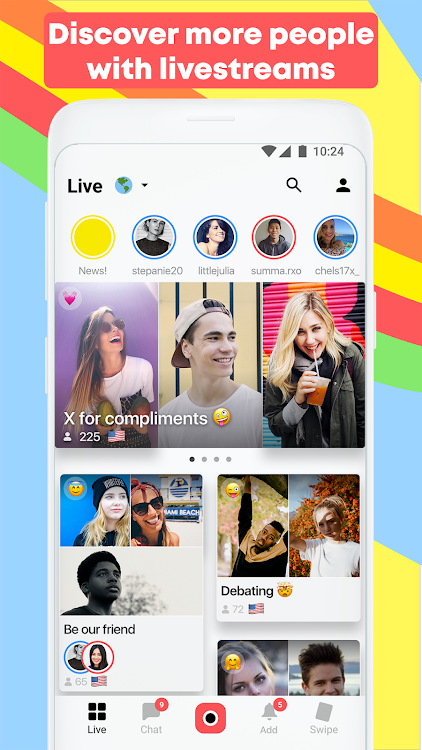 Yubo - Make new friends – (Android Apps) — AppAgg