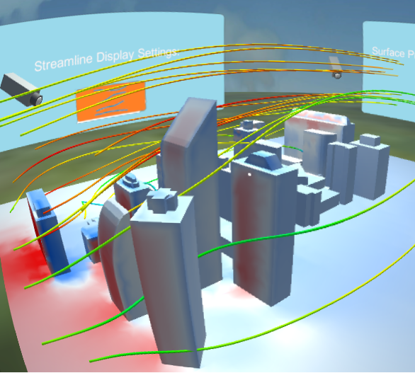 City CFD VR- screenshot
