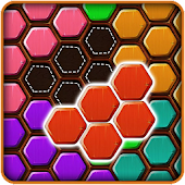 Wood Block Puzzle HEXA icon