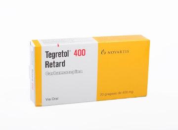 Tegretol Retard 400Mg   Grageas Caja x20Grg. Novartis Carbamazepina