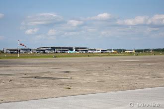 Photo: Passasjerterminalen på Billund Lufthavn.