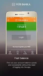 VÚB Mobile Banking- screenshot thumbnail