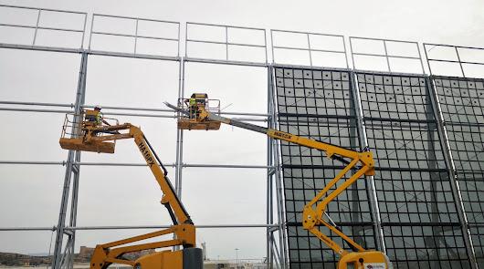 Más pantallas atrapa-polvo en el Puerto para mejorar la calidad del aire