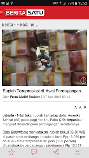 BeritaSatu- screenshot thumbnail