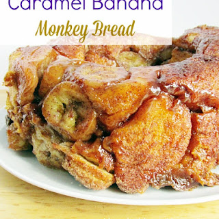 Caramel Banana Monkey Bread