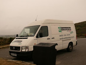 Photo: our work van