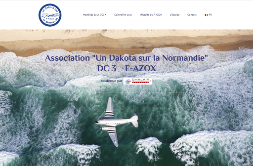 Site web créé par Dakota