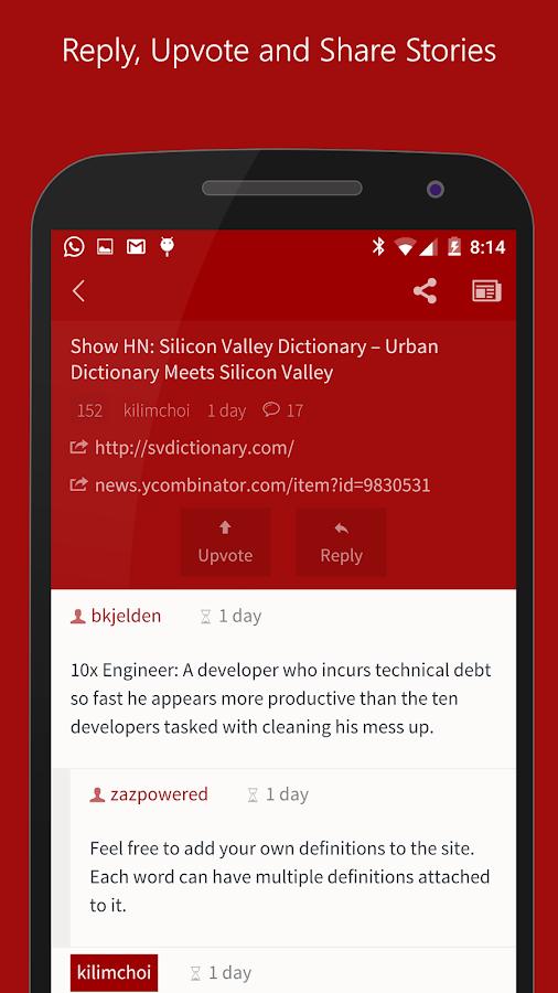Hacker News (YC) - screenshot