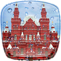 Rain in Moscow Live Wallpaper icon