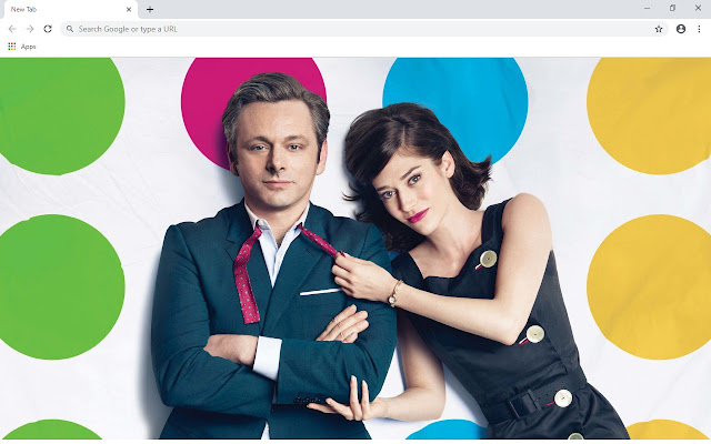 Michael Sheen New Tab & Wallpapers Collection