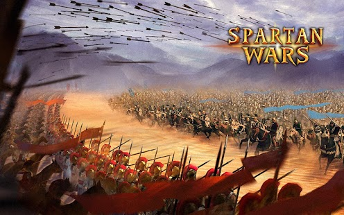 یاری بۆ ئهندرۆید Spartan Wars: Blood and Fire v1.4.7 Apk