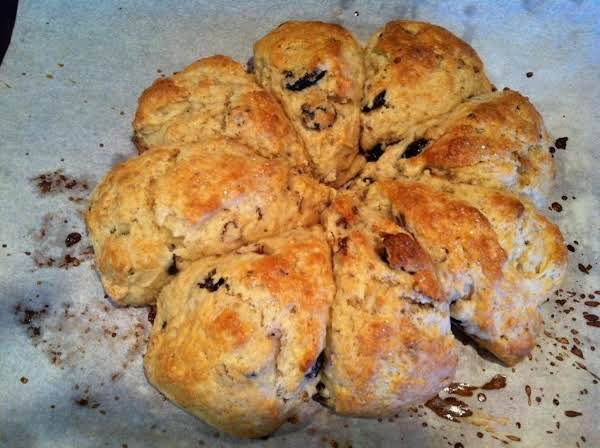 Cherry Pecan Scones Recipe