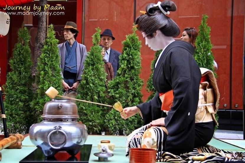 พิธีชงชา_ชาเขียวญี่ปุ่นแท้