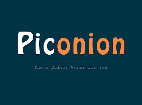 Piconion Photo Editor