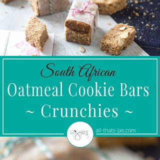 South African Oatmeal Cookie Bars – Crunchies.