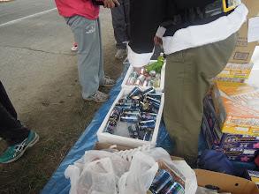 Photo: その間にビール、チューハイ、お茶なども準備