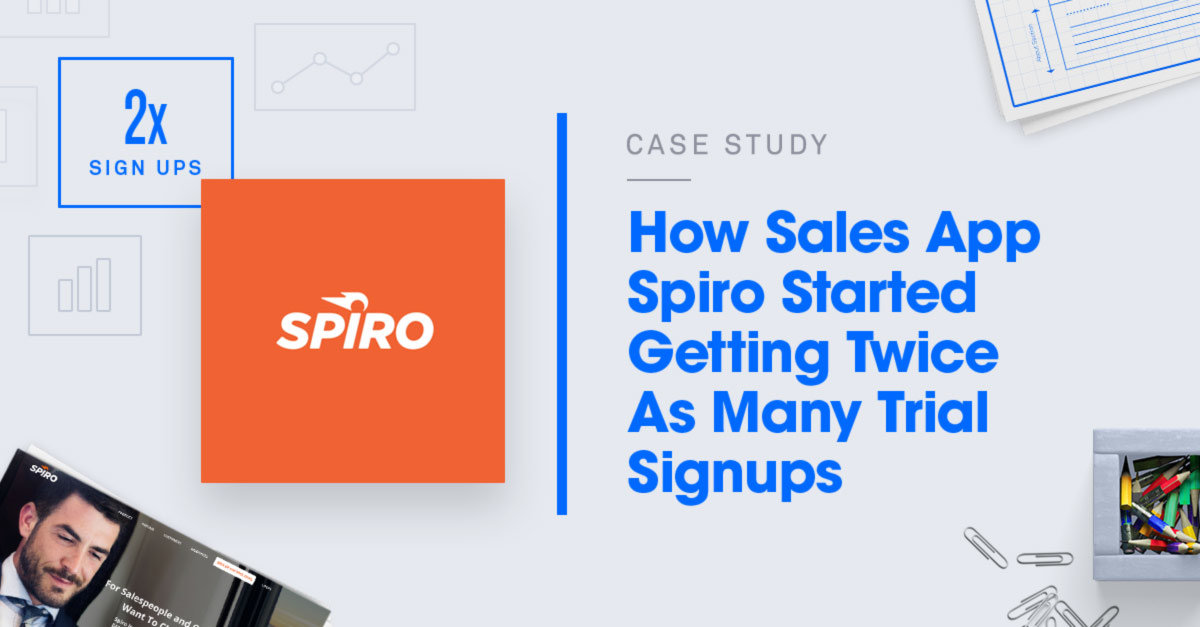 The Lead Generation for SaaS Strategy That Doubled Spiro's Trial Signups