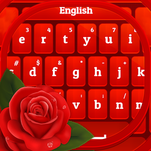 Red Rose Keyboard 2020