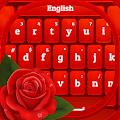Red Rose Keyboard 2020 APK