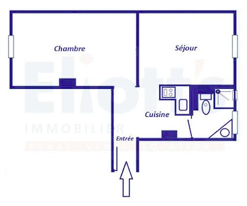 Vente appartement 2 pièces 37,08 m2