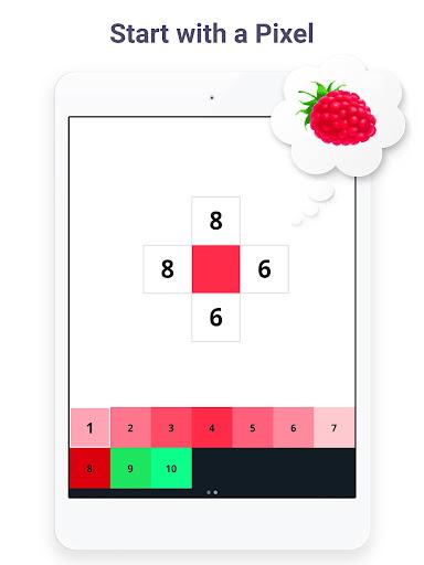 Pixel Art: Build by Number Game screenshot 7