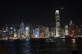 Photo: Day 195 -  Lights on HK Island #5