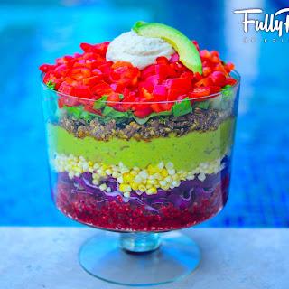 FullyRaw Texas Sized Taco Salad!