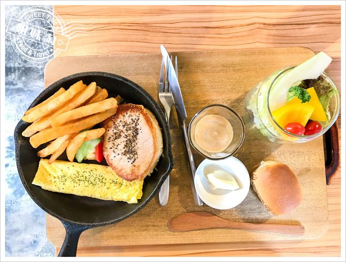 路易先生早午餐菜單嫩煎豬里肌