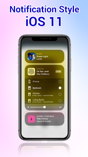 Phone X Launcher, OS 12 iLauncher & Control Center  screenshots 3