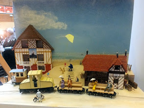 Photo: 123 Edwina Laceur built this little diorama, also in HOe, called Calvados .
