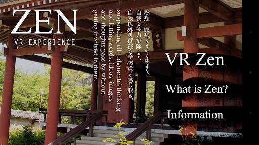 禅VR -瞑想からあなたにひらめきを-