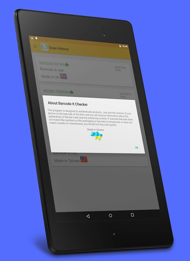 Bar Code Tester : Barcode it checker android apps on google play